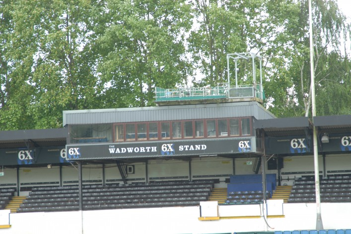 The TV and Commentators Facilities/Camera Gantry