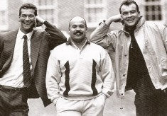 Great Mates Gareth Chilcott, John Hall, Martin Hagg