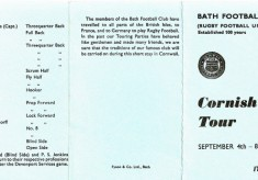 1965 Cornish Tour
