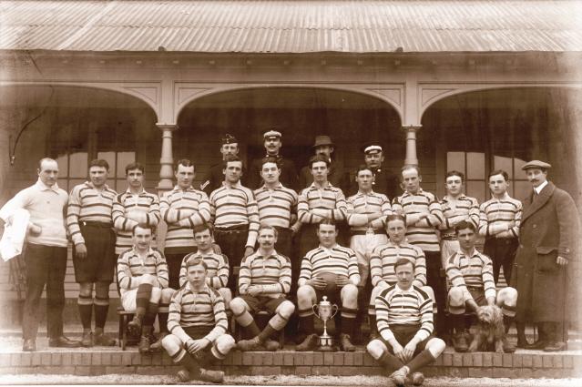1912-1913 Bath 'A' Team