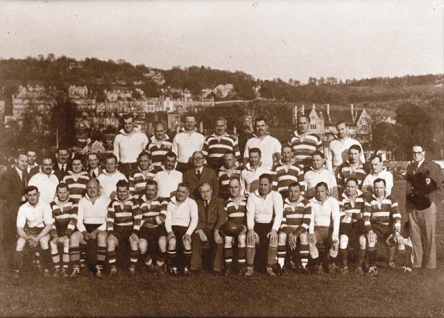 Team 1951 Old Crocks v Exiles