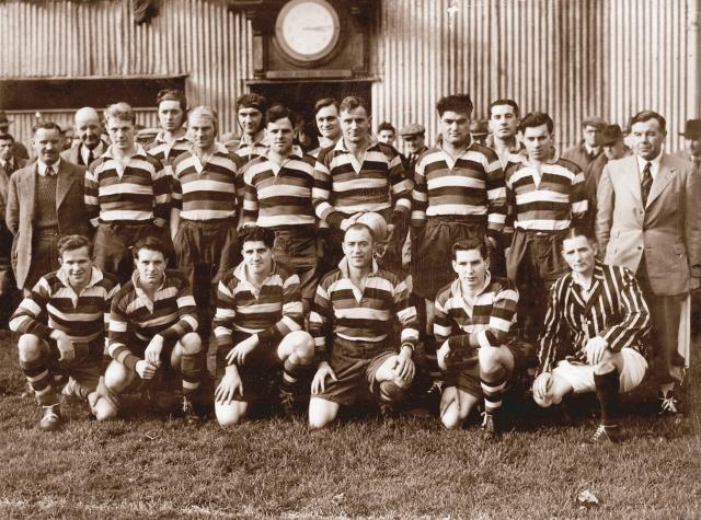 1951 Bath Team v Bristol