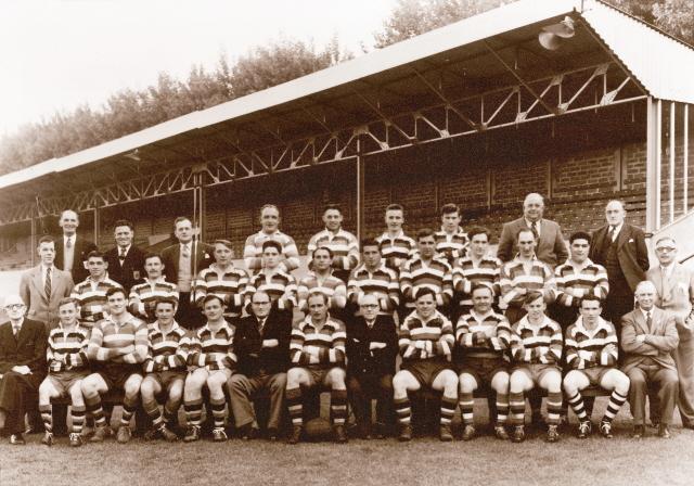 1955-1956 Bath Squad photograph