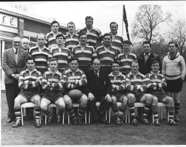 Team 1958 v Rosslyn Park