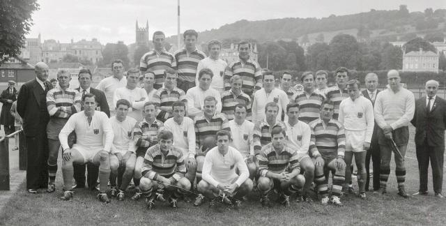 Team 1963 v West Germany XV