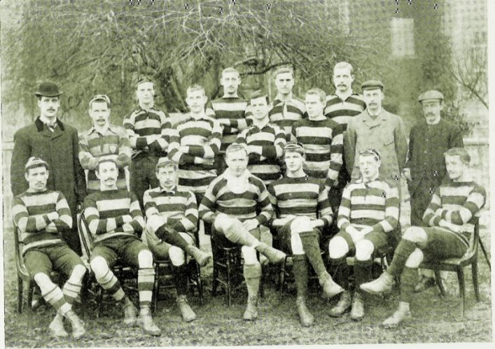 Team Photograph in the 1890s