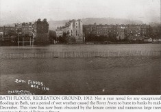 1910 Floods on the Recreation Ground