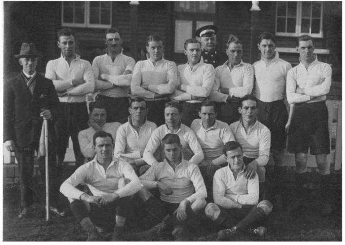 Team Photograph v Bristol 1923