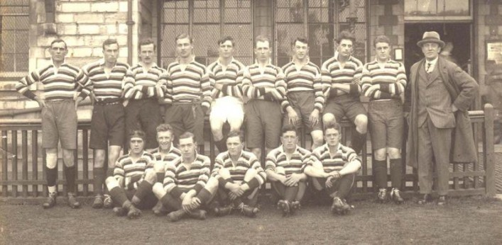 Team Photograph 1924 v United Services