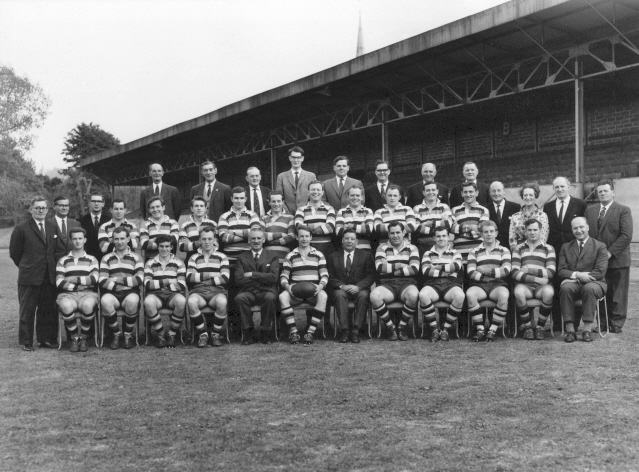 Team photograph in 1965