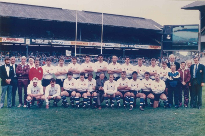 1987 Bath Team John Player Special Cup Winners