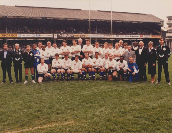 1989 Bath Team Pilkington Cup Winners