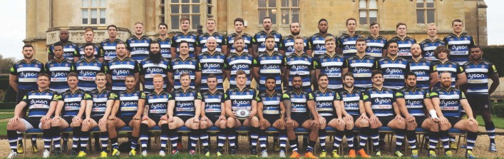 Bath Rugby Squad 2015 2016