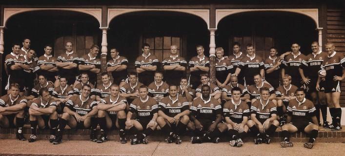 Team photograph 2001 02