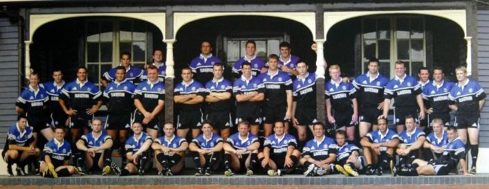 Bath Rugby team photograph 2002 2003