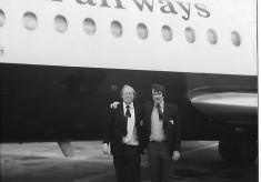 Radley Wheeler and Brian Jenkins Arrive in Bordeaux