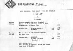 1977 French Tour Bordeaux