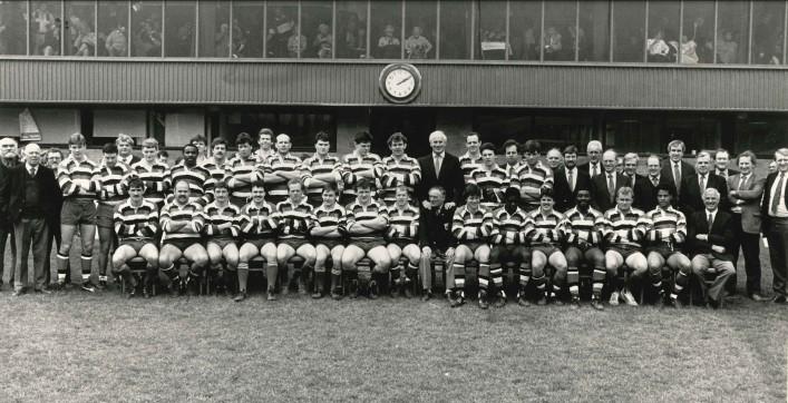 1987-1988 Squad photograph