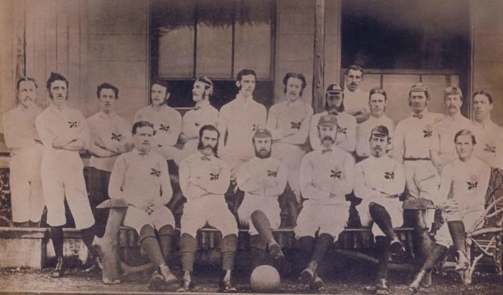 1872 England Team Photo
