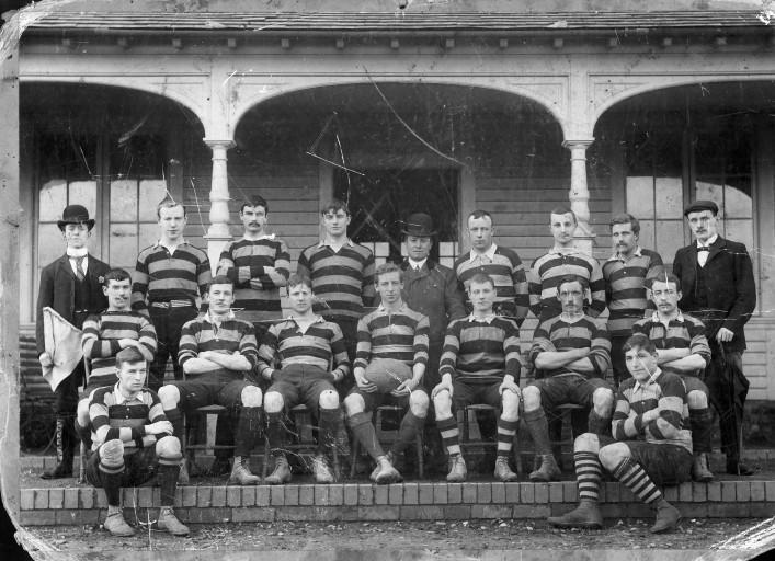 1900-1901 Bath Team