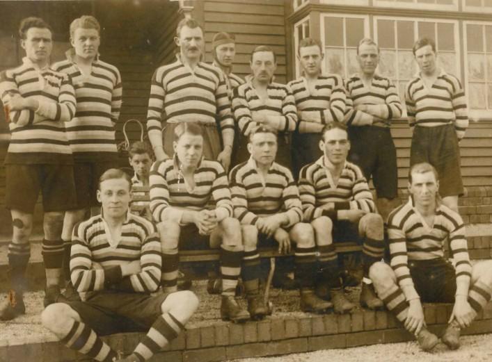 1922 Bath Team v Newport