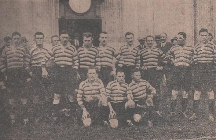 1928 13 September Bath team v Bridgwater