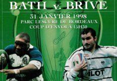 1998 European Cup Final poster