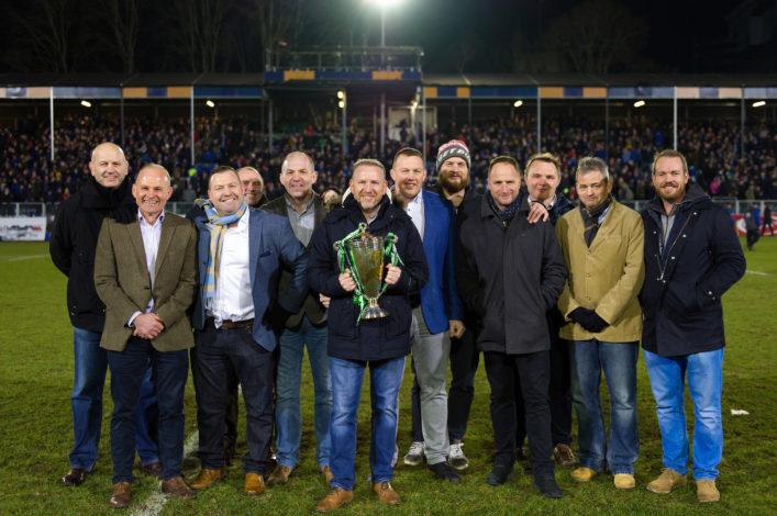 1998 European Cup winning side reunited