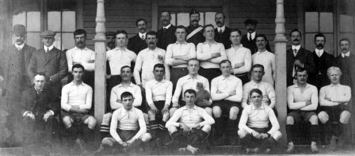 1908 1909 Bath Team