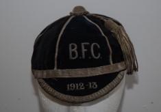 Bath Football Club Cap 1912/13