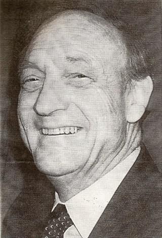 Player, Administrator President Len Hughes