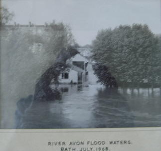 1968 The Recreation Ground under water