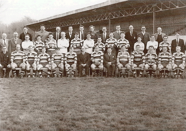 1962-1963 Bath Squad and Committee photograph
