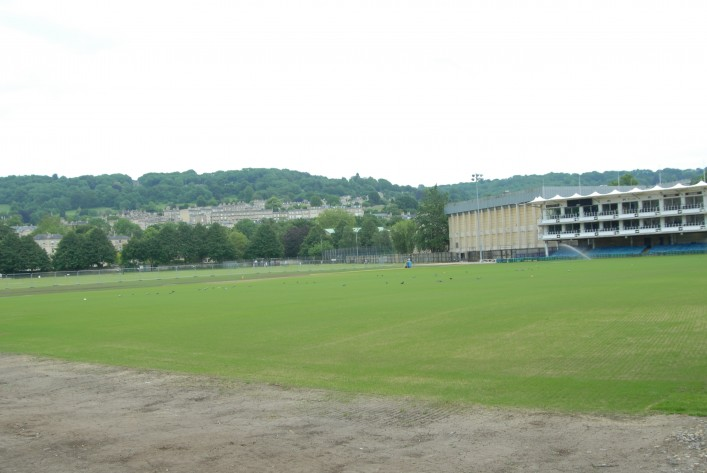 The Recreation Ground during the summer