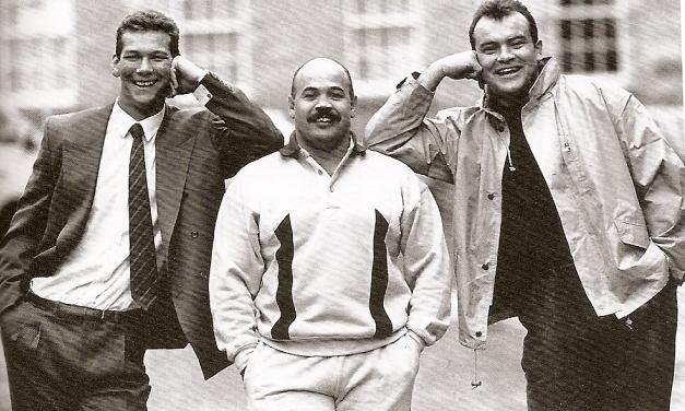 Great Mates Gareth Chilcott, John Hall, Martin Hagg