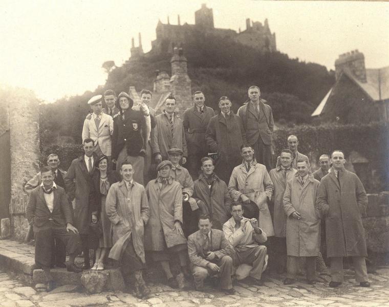 Cornish Tour 1935