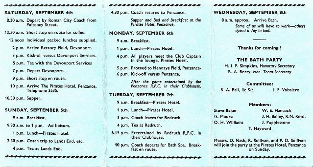 Cornish Tour 1965 2