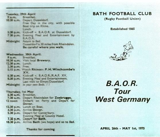Germany Tour 1975 2