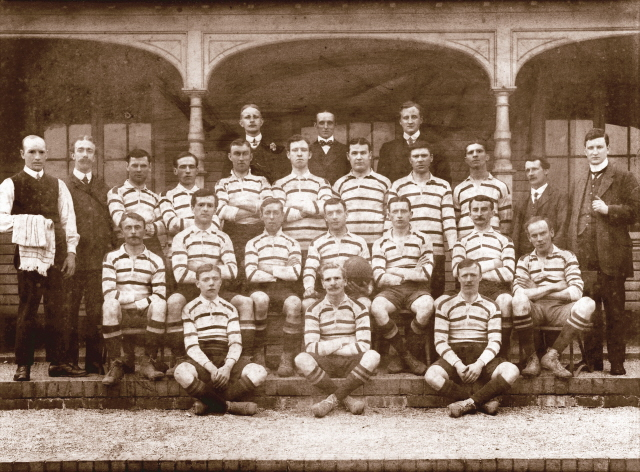 1911-1912 Bath 'A' Team