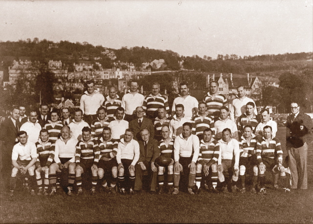 Team 1951 Old Crocks v Exiles