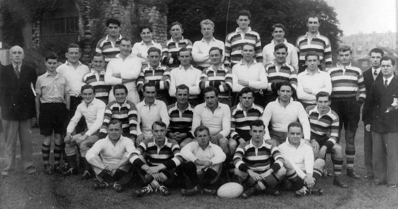Team 1952-53 v International XV