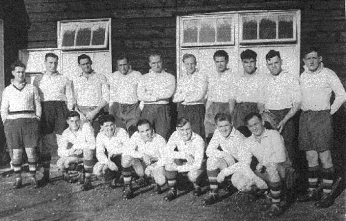 Team Photograph 1953 v Bristol