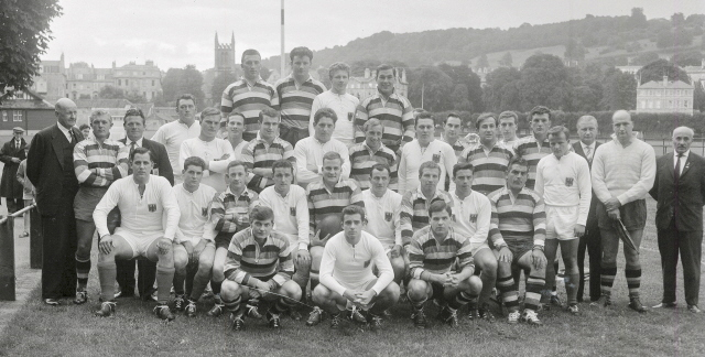 Team 1963 v West Germany XV