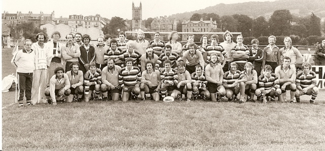 1978 Bath Team v Bucharest