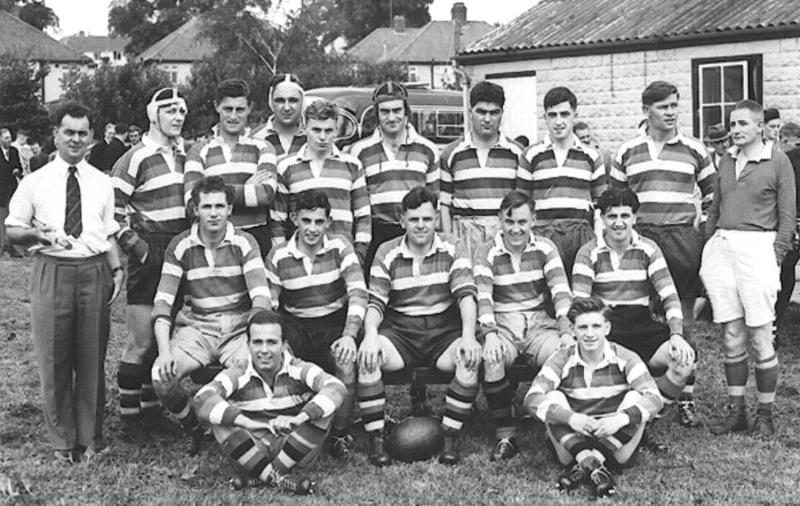 Team v Chippenham 1954