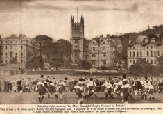 1912 A game on the Recreation Ground