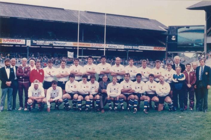 1987 Bath Team John Player Special Cup Winners