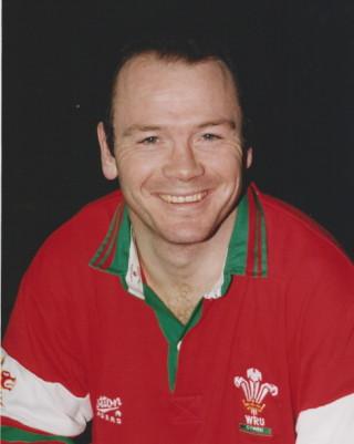 International player Ieuan Evans