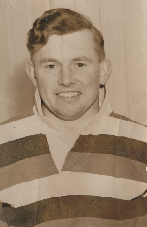 Player Ron Shuttleworth