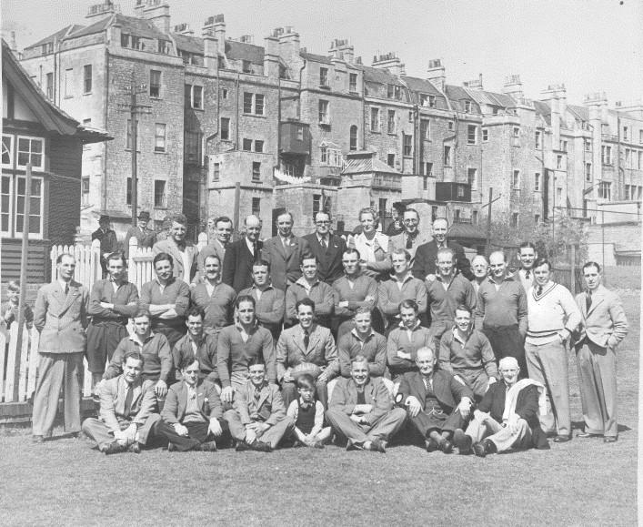1946-1947 Bath Team